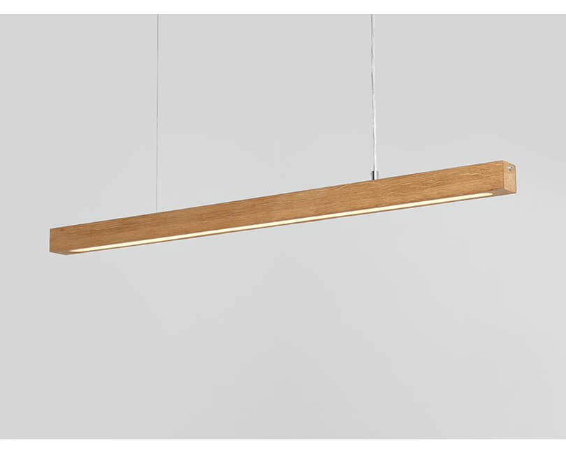 Stropní lampa line plus l wood low dub