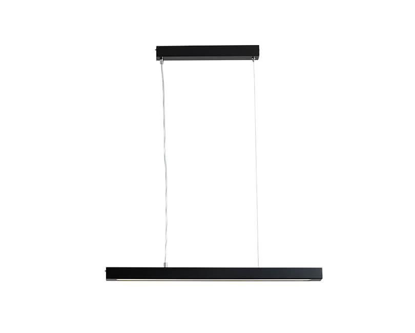 Stropní lampa line plus m černá