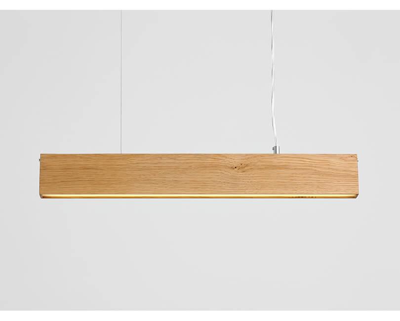 Stropní lampa line plus m wood dub