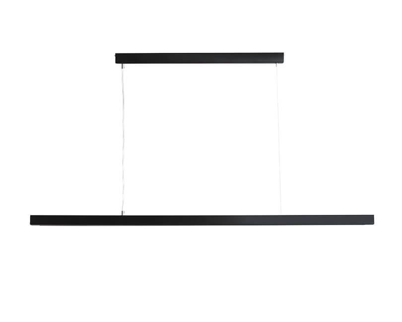 Stropní lampa line plus xl černá
