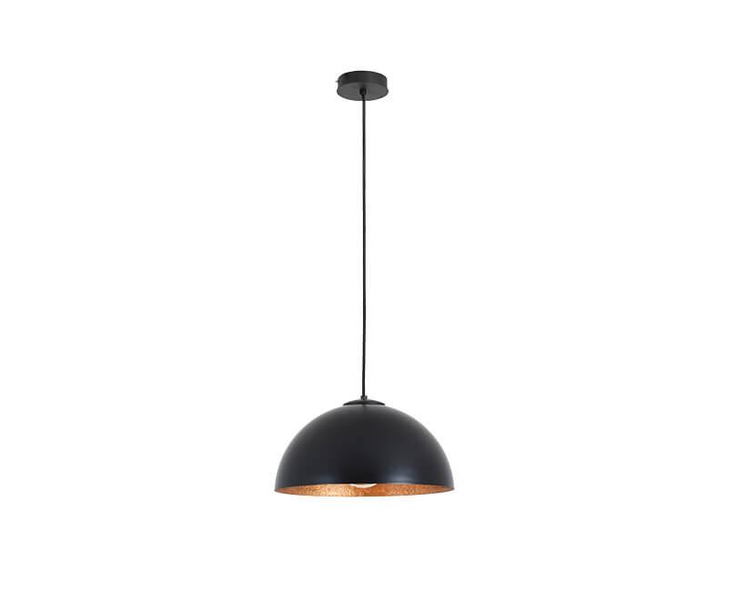 Stropní lampa lord 35 černá