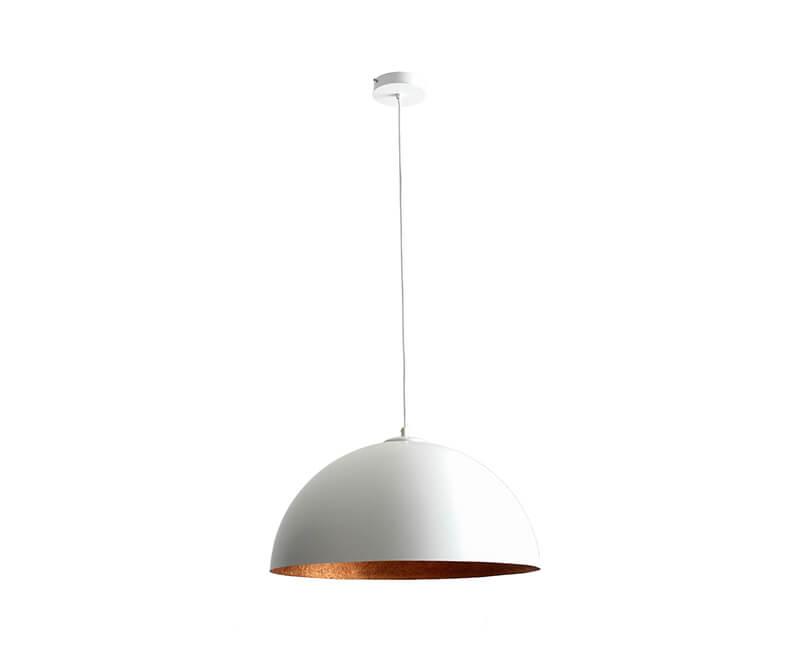Stropní lampa lord 50 bílá
