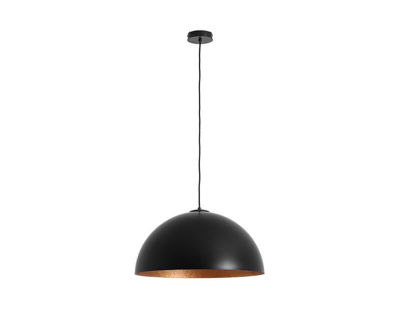 Stropní lampa lord 50 černá