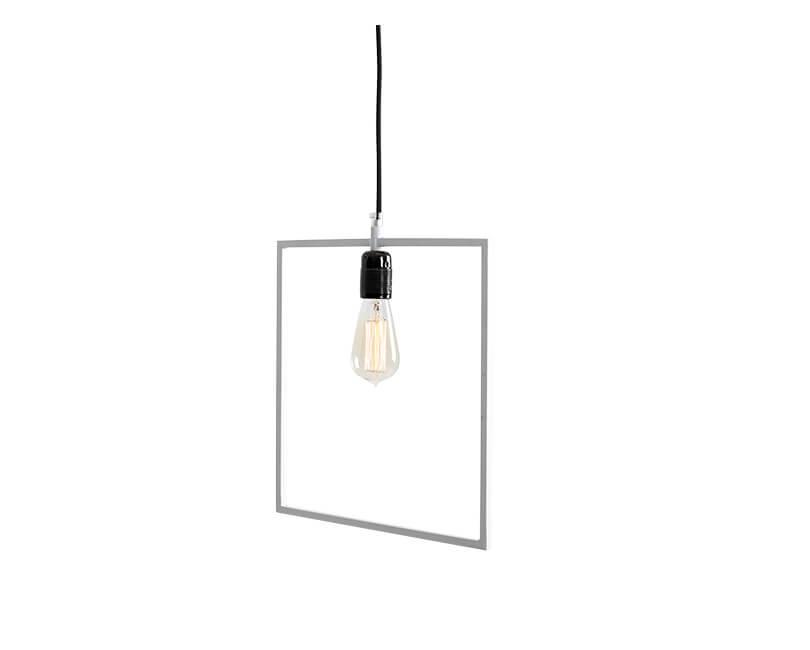 Stropní lampa quado bílá