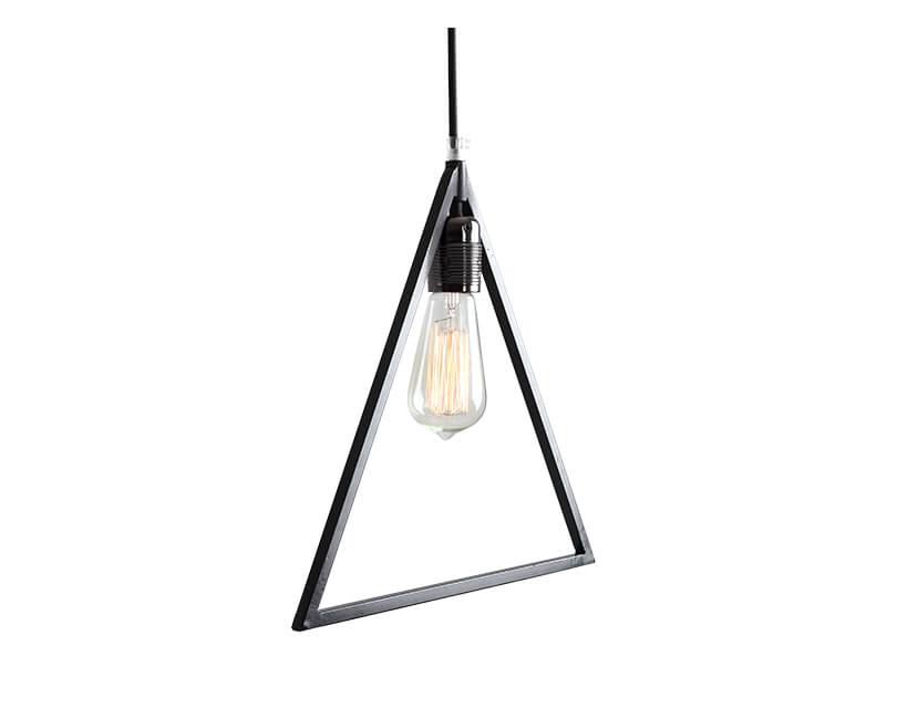 Stropní lampa triam černá