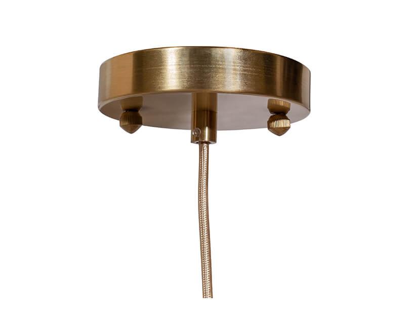 STROPNÍ LAMPA CUP SKLENĚNÁ Ø 21 CM