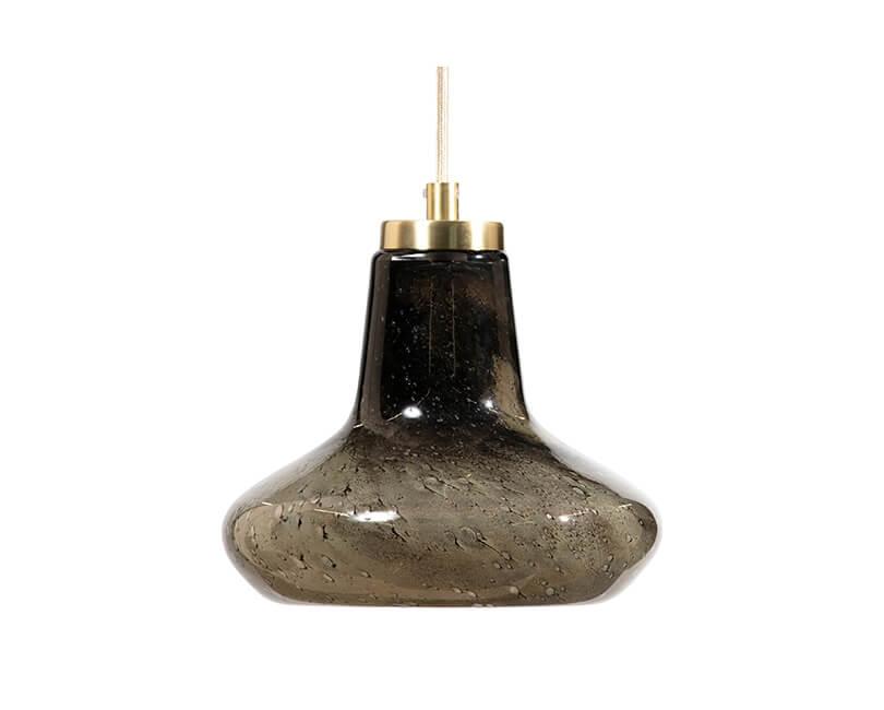 STROPNÍ LAMPA CUP SKLENĚNÁ Ø 23 CM