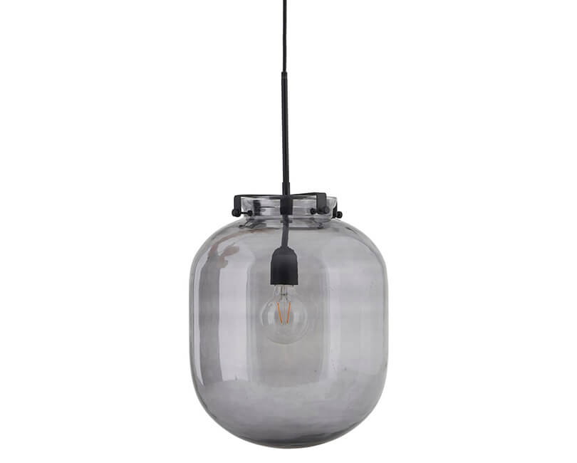 STROPNÍ LAMPA BALL ŠEDÁ