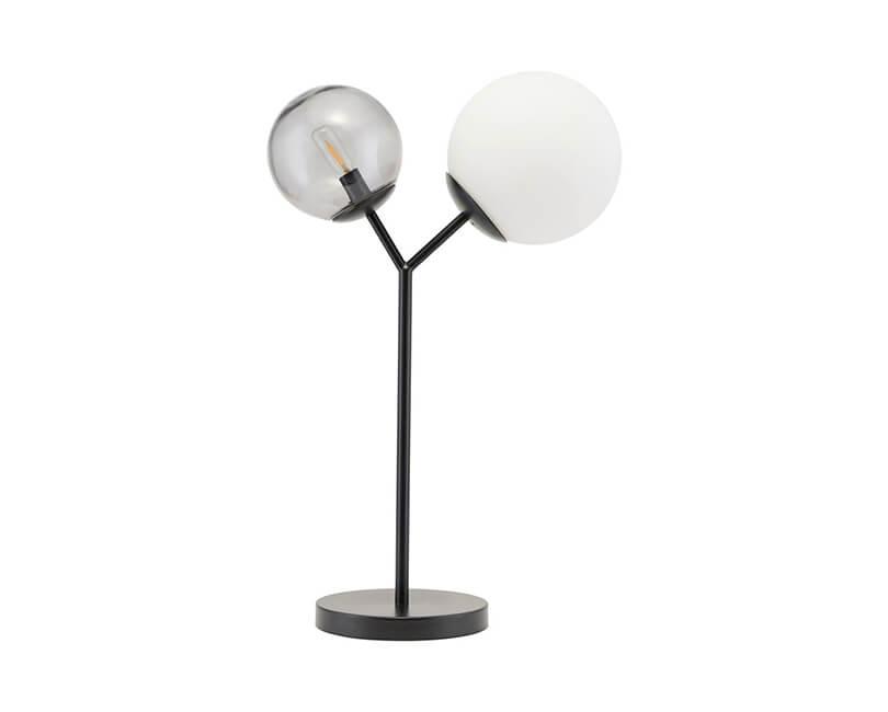 STOLNÍ LAMPA TWICE ČERNÁ