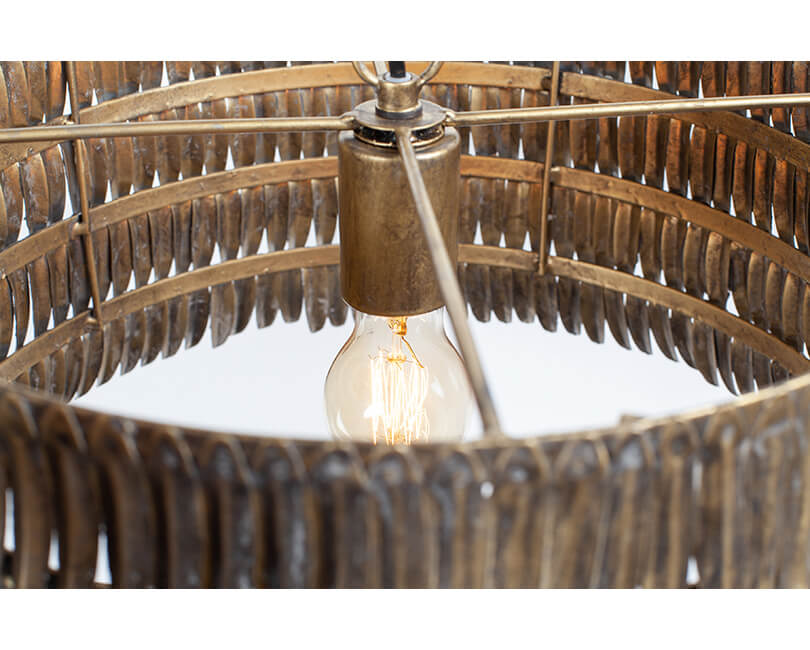 STROPNÍ LAMPA HAWAII KOVOVÁ
