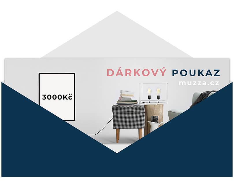 DÁRKOVÝ POUKAZ 3000 (TIŠTĚNÝ)