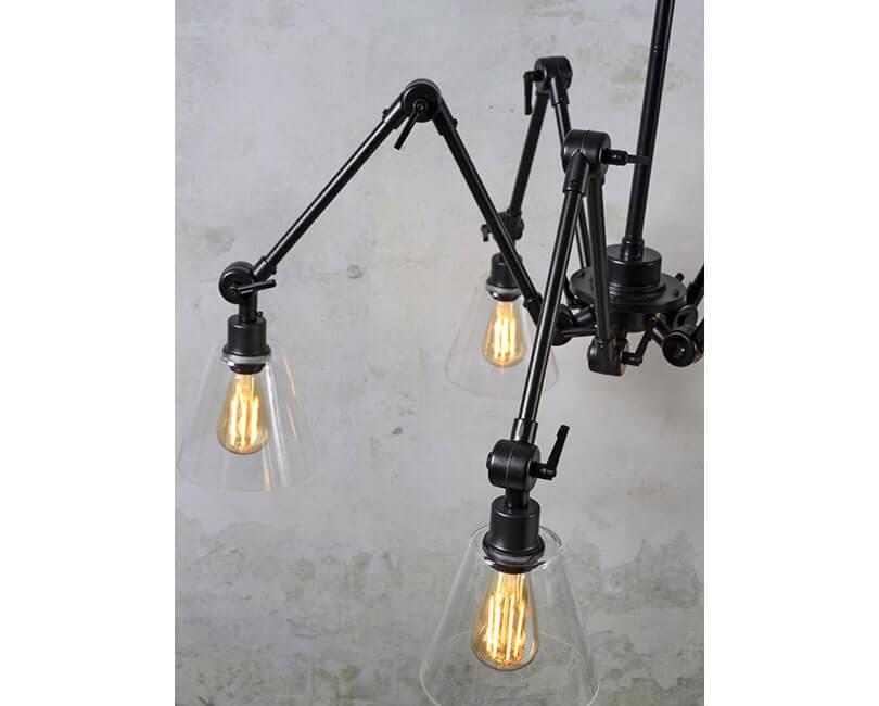 STROPNÍ LAMPA AMSTERDAM GLASS