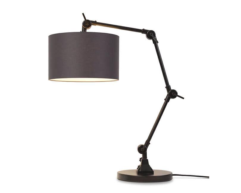 STOLNÍ LAMPA AMSTERDAM ČERNÁ