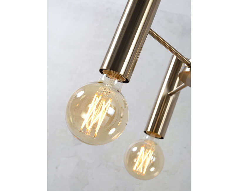 STROPNÍ LAMPA CANNES L ZLATÁ