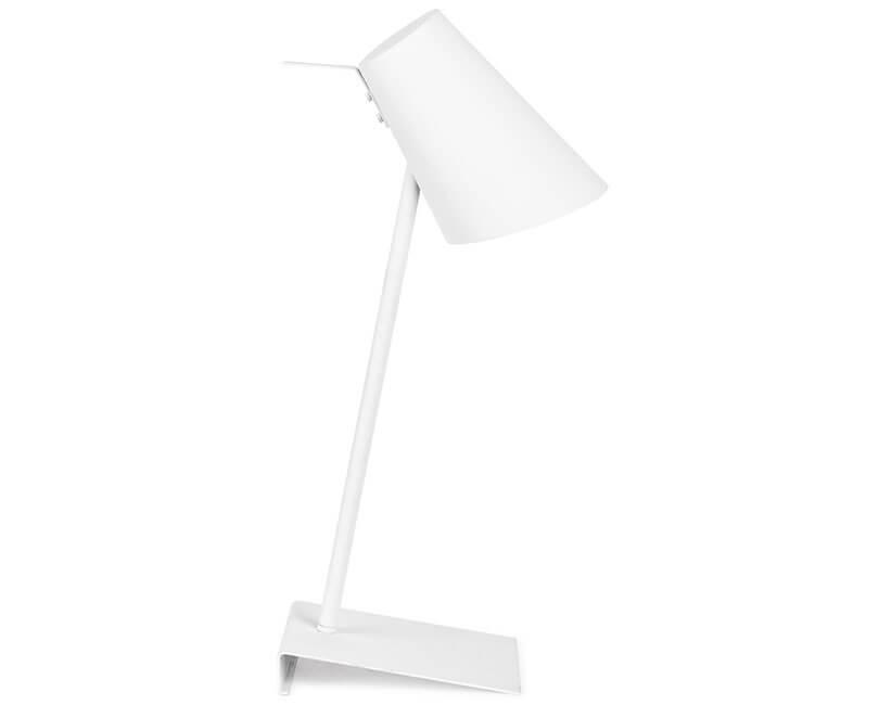 STOLNÍ LAMPA CARDIFF BÍLÁ