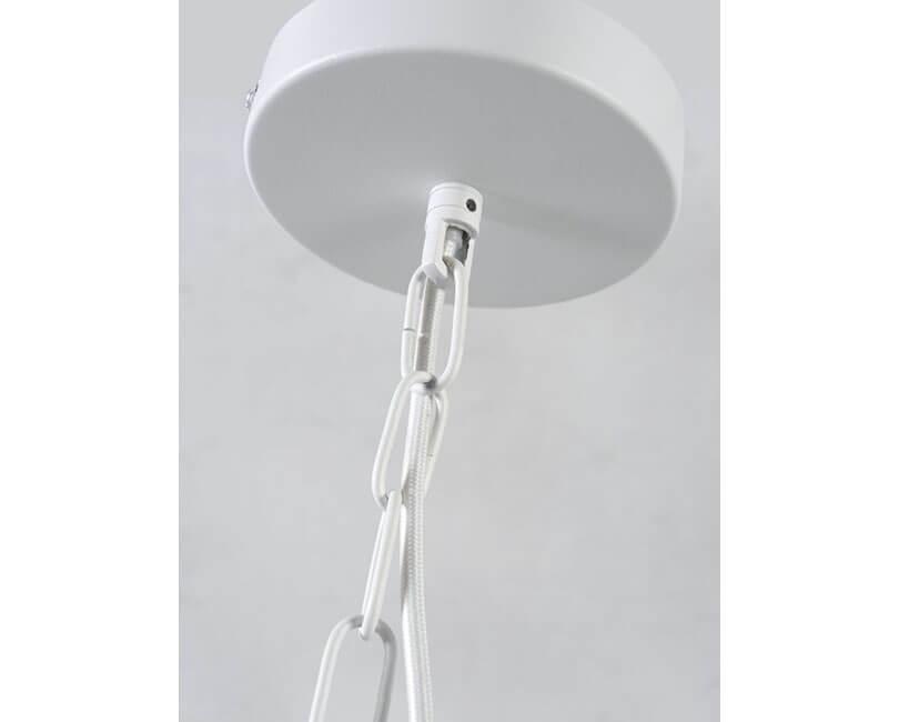 STROPNÍ LAMPA FLORENCE S KVĚTINÁČEM BÍLÁ