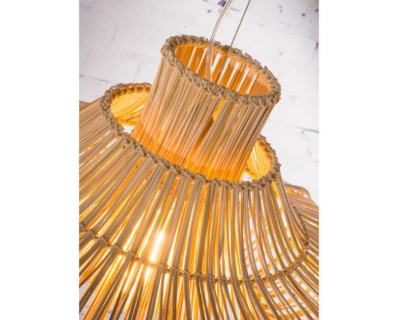 STROPNÍ LAMPA KALAHARI S PŘÍRODNÍ