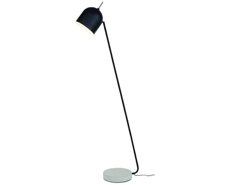 STOJÍCÍ LAMPA MADRID ČERNÁ