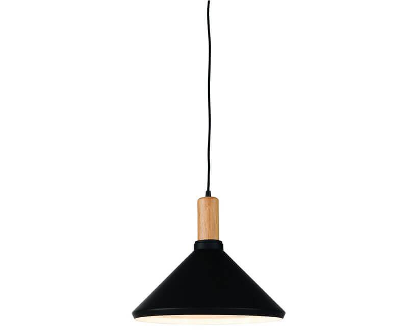 STROPNÍ LAMPA MELBOURNE M ČERNÁ