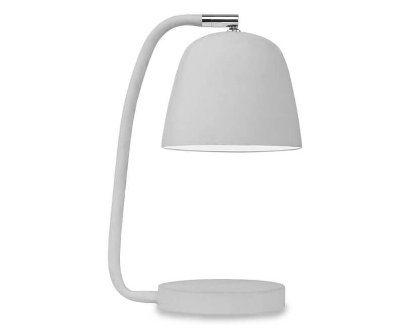 STOLNÍ LAMPA NEWPORT ŠEDÁ
