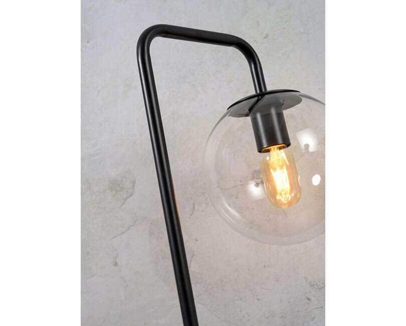 STOJÍCÍ LAMPA WARSAW ČERNÁ