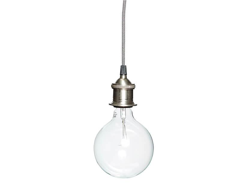 STROPNÍ LAMPA HÜBSCH SIMPLE SILVER