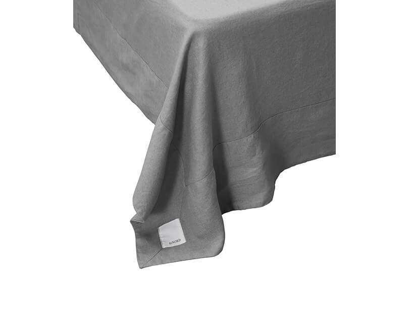 Ložní prostěradlo Gunhild 280 x 280 šedé