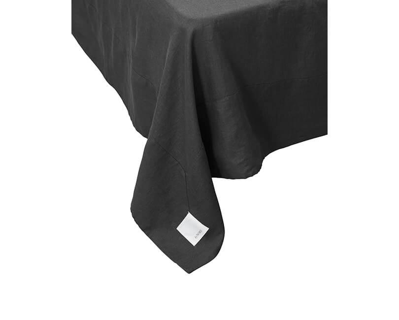Ložní prostěradlo Gunhild 280 x 280 černé