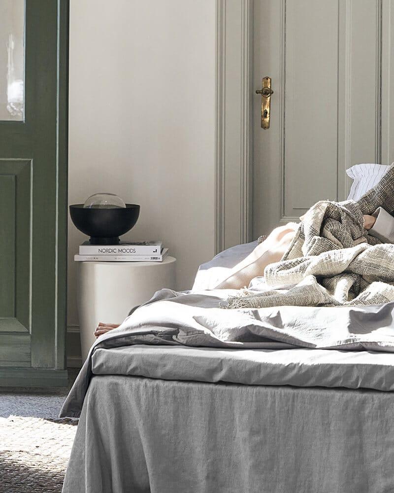 Ložní prostěradlo Ingrid 270 x 160 šedé