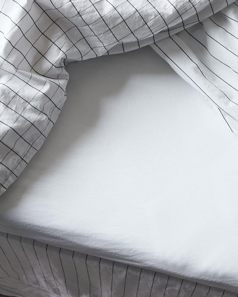 Ložní prostěradlo Ingrid 270 x 160 bílé
