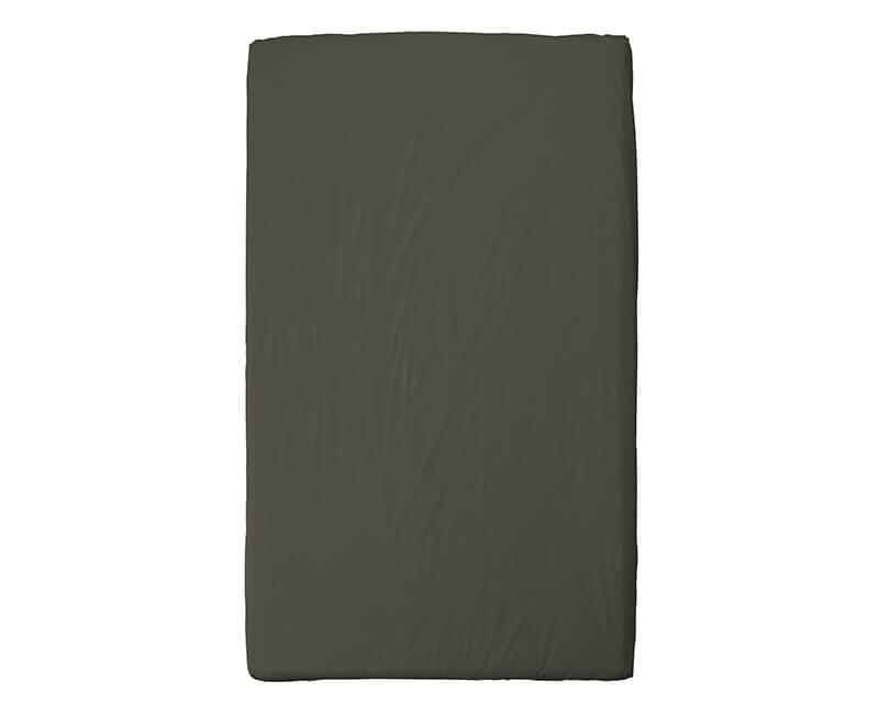 Ložní prostěradlo Ingrid 270 x 210 tmavě zelené
