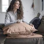 Ložní prostěradlo Ingrid 270 x 210 starorůžové
