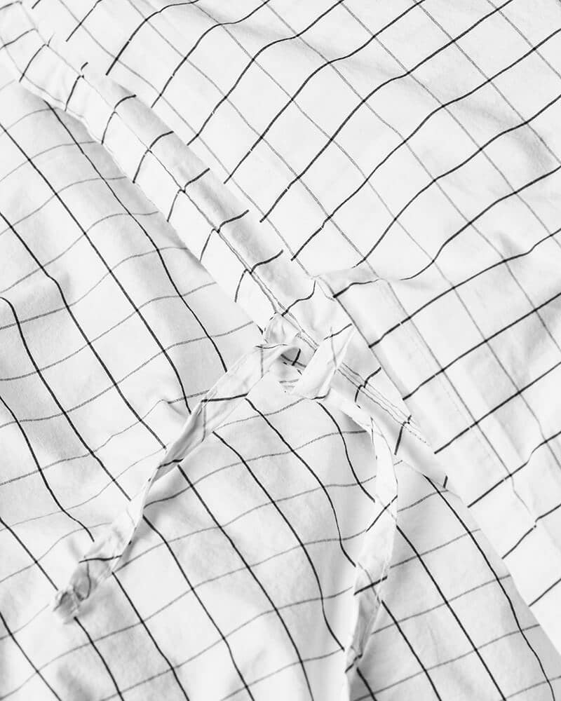 Ložní povlečení Erika 210 x 150 bílé