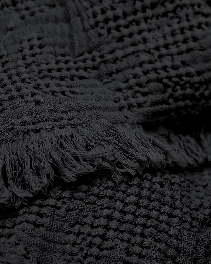 Přehoz Hilda 280 x 240 černý