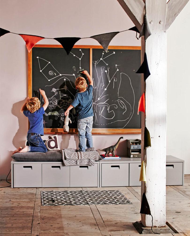 Dětská lavice s úložným prostorem store