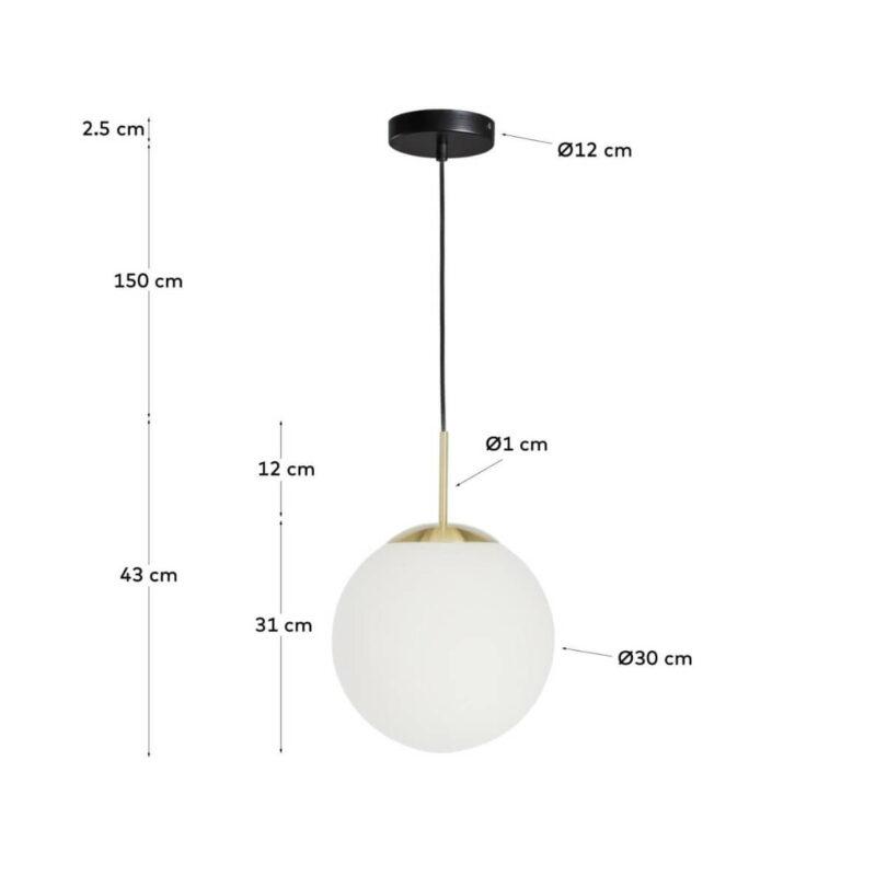 STROPNÍ LAMPA MAHALA