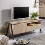 TV STOLEK DISSET 125 X 45 PŘÍRODNÍ