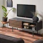 TV STOLEK MAHON 120 X 45 HNĚDÝ