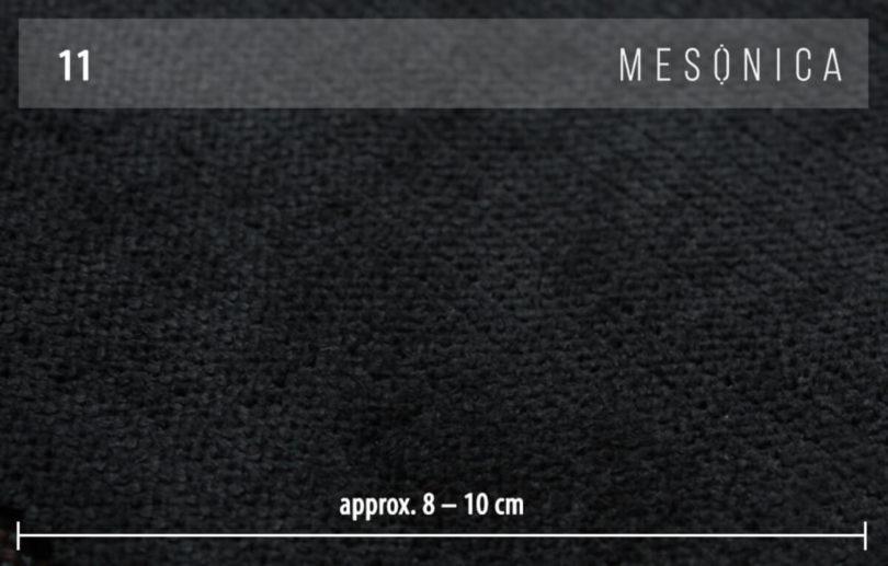 Taburet puzo tmavě šedý