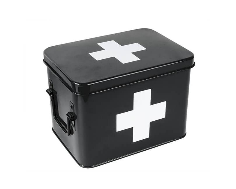 ÚLOŽNÝ BOX PRESENT TIME ČERNÝ MALÝ